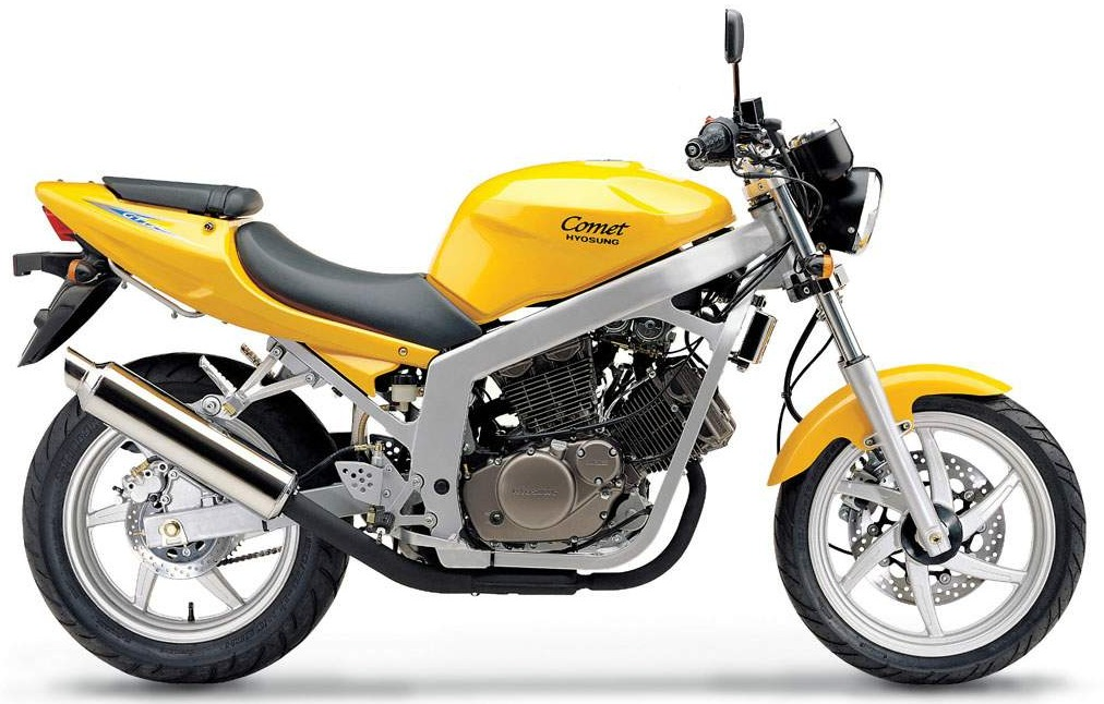 hyosung gt 125 comet opinie motocyklist w. Black Bedroom Furniture Sets. Home Design Ideas
