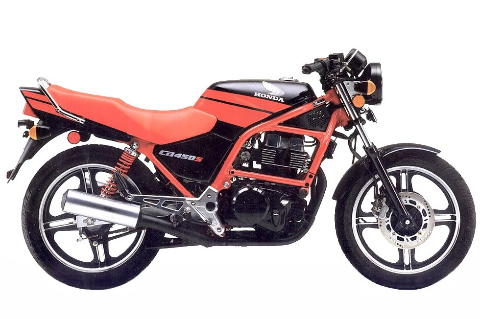 honda cb450s pc17 1986 1989 opinie motocyklist w. Black Bedroom Furniture Sets. Home Design Ideas