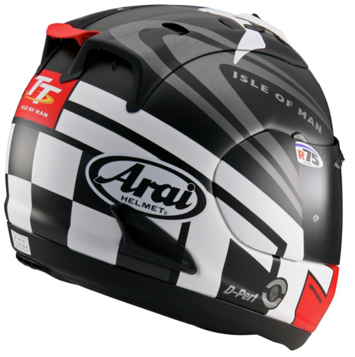 Arai RX7 GP Isle Of Man 2014