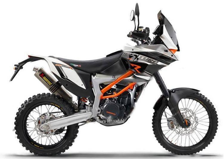 KTM 390 Adventure koncepcja