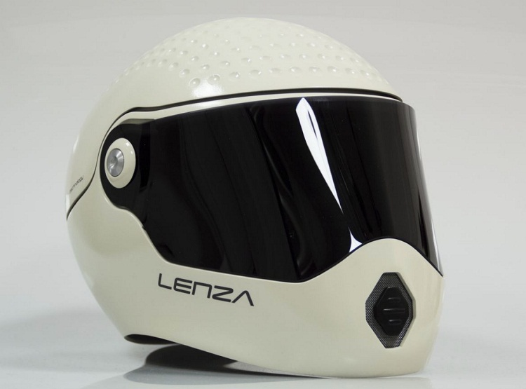 Cichy kask Lenza One - prototyp