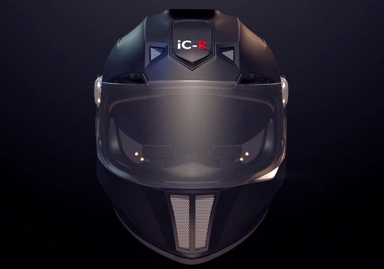 Inteligentny kask motocyklowy ic-r