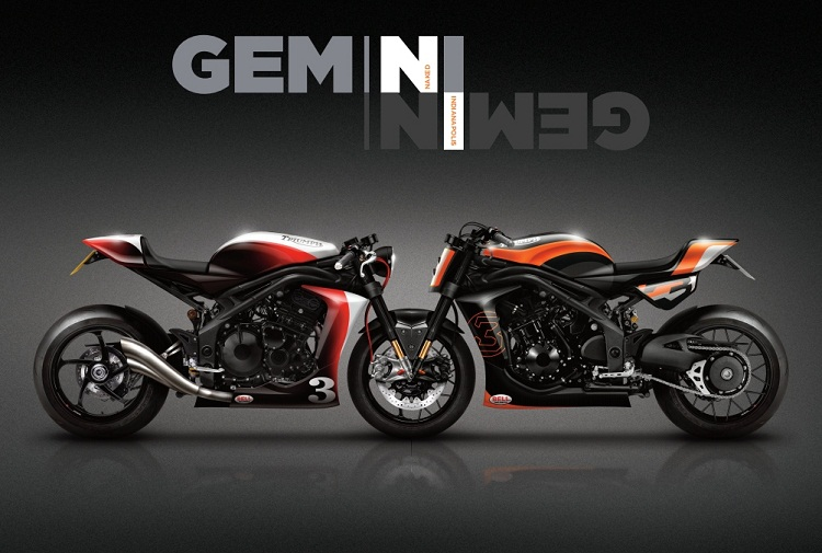 Triumph SPeed Triple Project Gemini