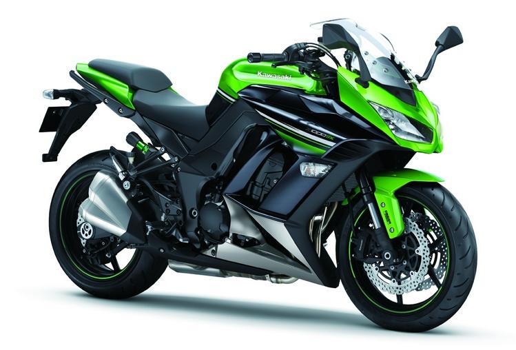 Kawasaki Z1000 SX 2016 Candy Lime Green
