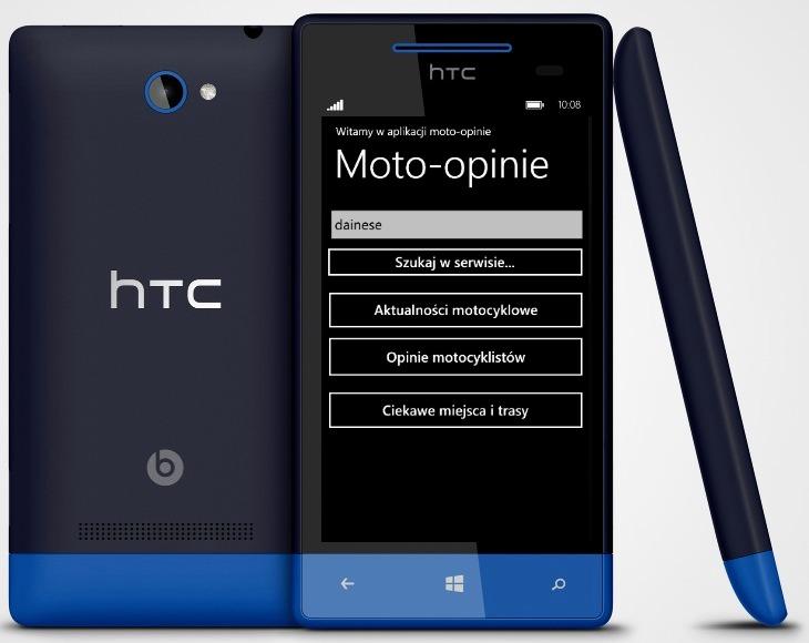 Motocyklowa aplikacja mobilna dla Windows Phone - Moto-Opinie