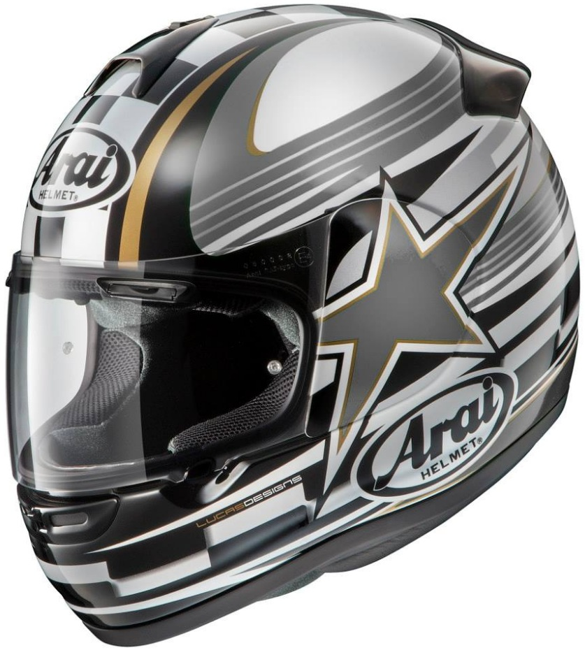 Arai Axces II Starflag Grey