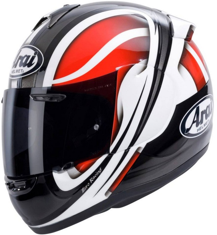 Arai Axces II Vortex Red