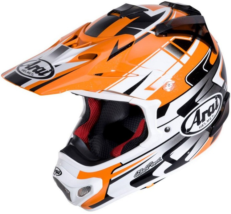 Arai MX-V Tip Orange
