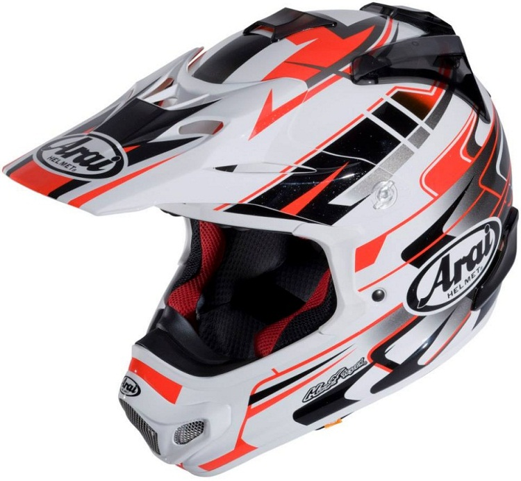 Arai MX-V Tip Red