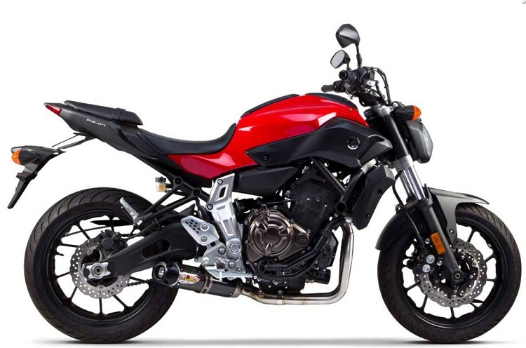 Yamaha MT-07 wydech two brothers