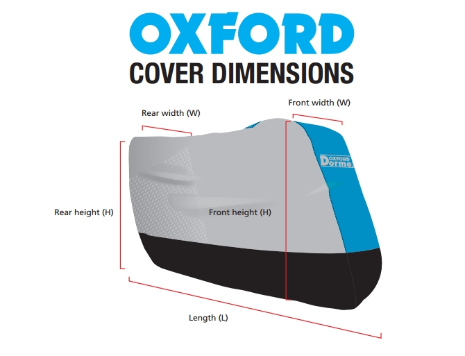 Pokrowce oxford tabela rozmiarów